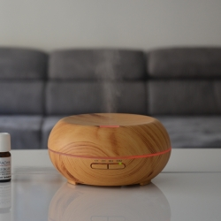 Diffuser with soft heat