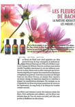 Article de presse Temps libre April 2012 Fleurs de bach